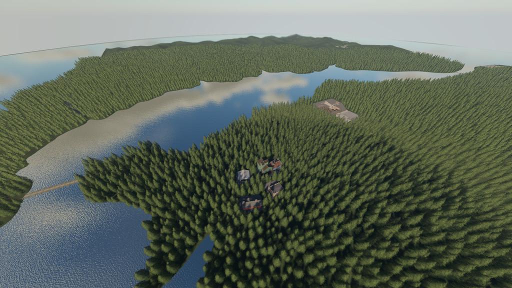 FS19 - Willamina Forest Map v1.2.0.2