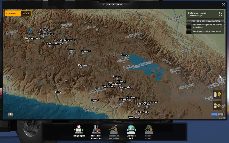 ETS2 - Bolivia Map (1.39.x)