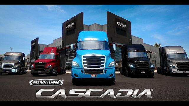 ETS2 - Freightliner Cascadia Truck (1.39.x)
