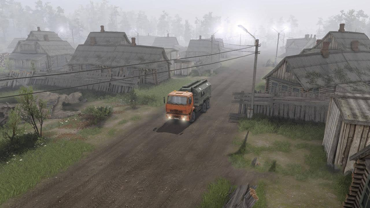 Spintires - Research Institute and Factory Map V1.0