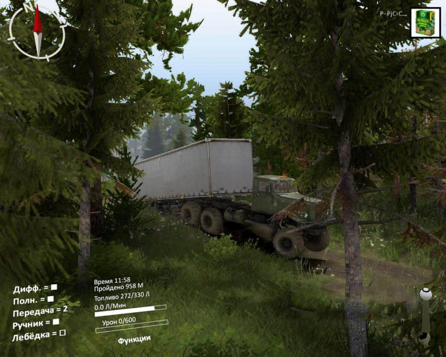 Spintires - Collapse Map V1.0