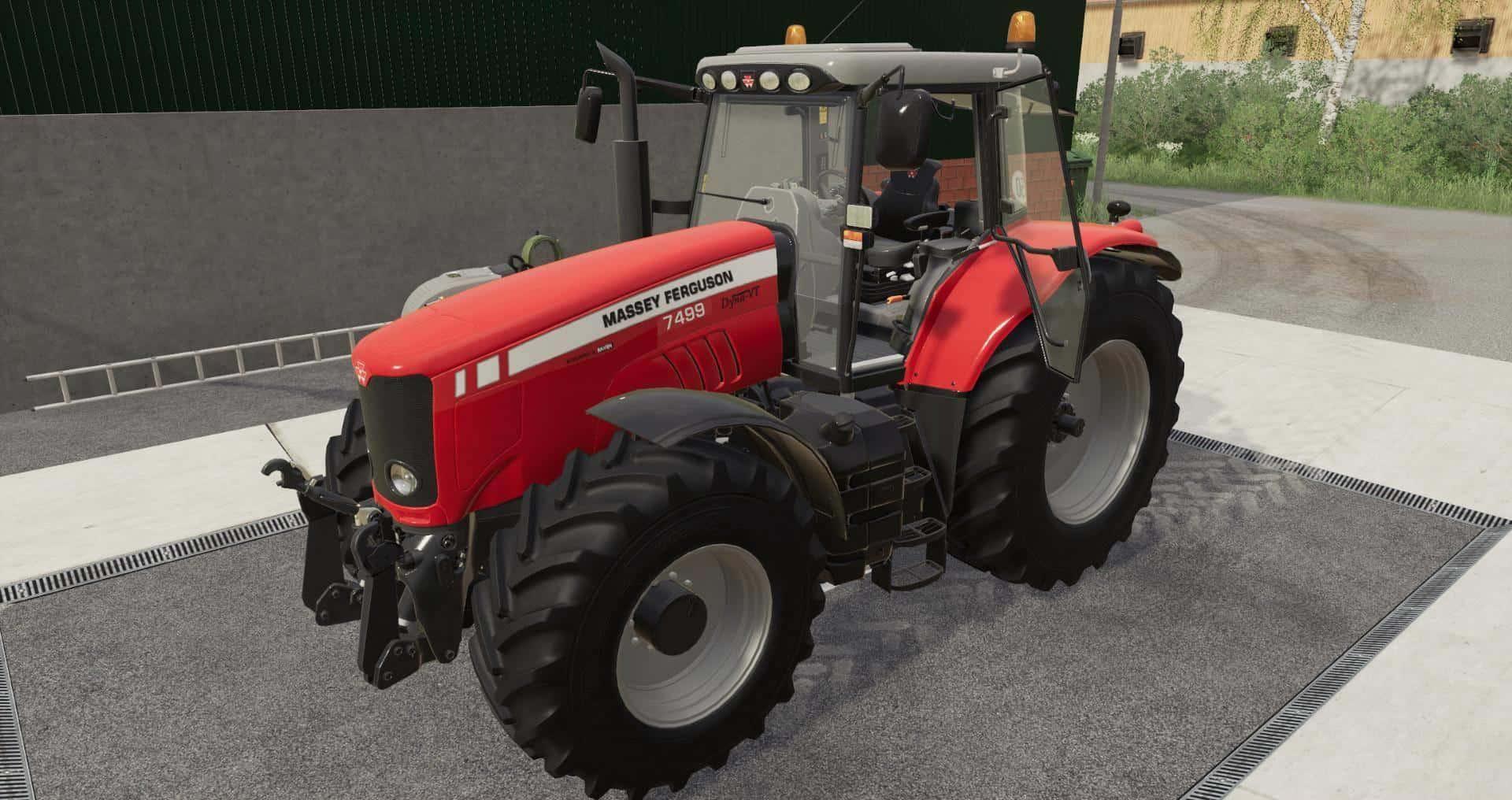 FS19 - Massey Ferguson 7400 Tractor V1.0