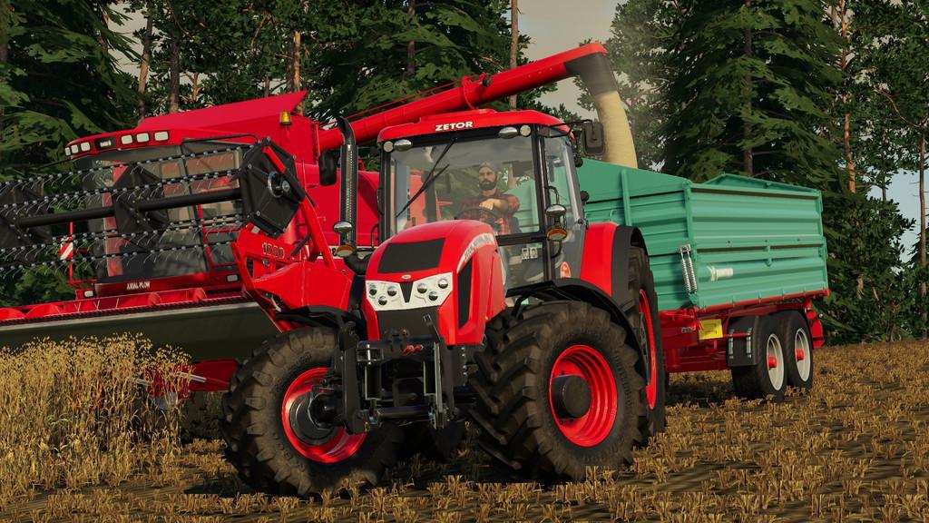 FS19 - Zetor Forterra HD Tractor V1.1