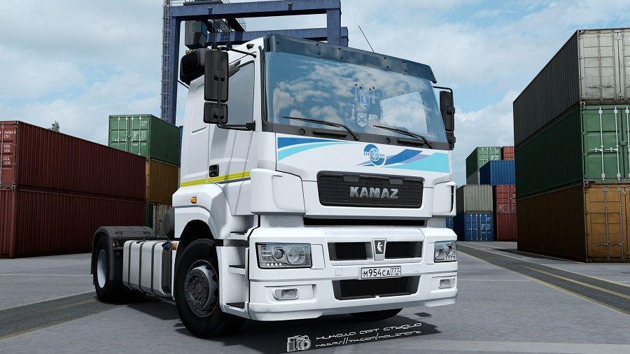 ETS2 - Kamaz 5490 Neo/65206 Truck (1.38.x)