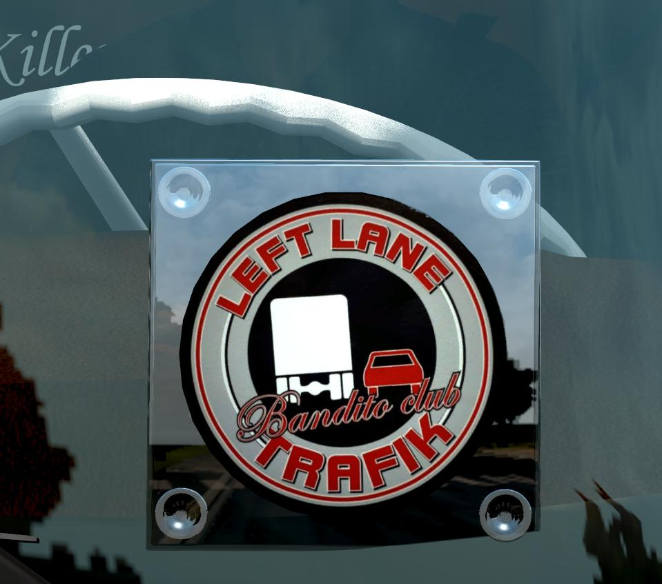 ETS2 - Left Lane Traffic Window Lightbox Mod (1.36.x)