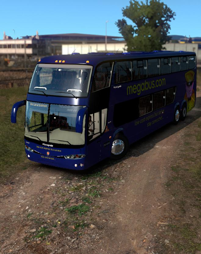 ETS2 - Marcopolo G6 1200 DD Megabus (1.35-1.36)