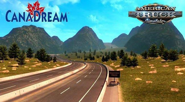 ATS - CanaDream Map V2.9.3 (1.36.x)