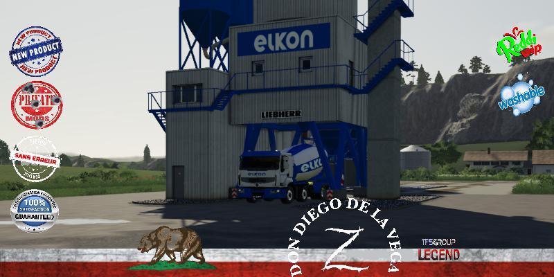 FS19 - Centrale A Beton Elkon V1.5