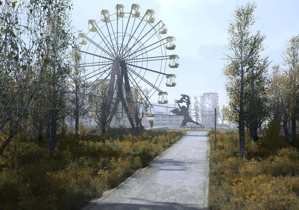 Spintires:Mudrunner - Maps Somewhere in Pripyat 2 Map V12.09.18