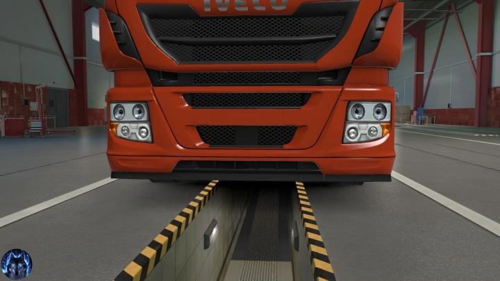 ETS2 - Iveco Hi-Way Reworked Truck V3.4 (1.41.x)