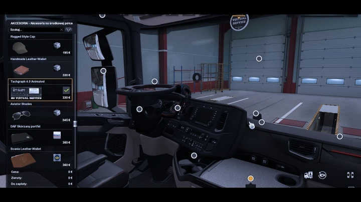 ETS2 - Animated Tachograph (1.41.x)