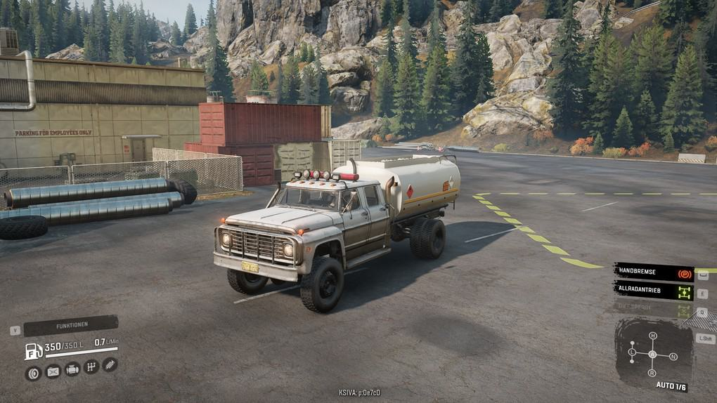 SnowRunner - Ford F750 Special Console Edition V1.0