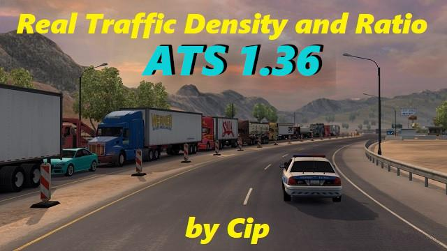 ATS - Real Traffic Density Mod V1.36.A