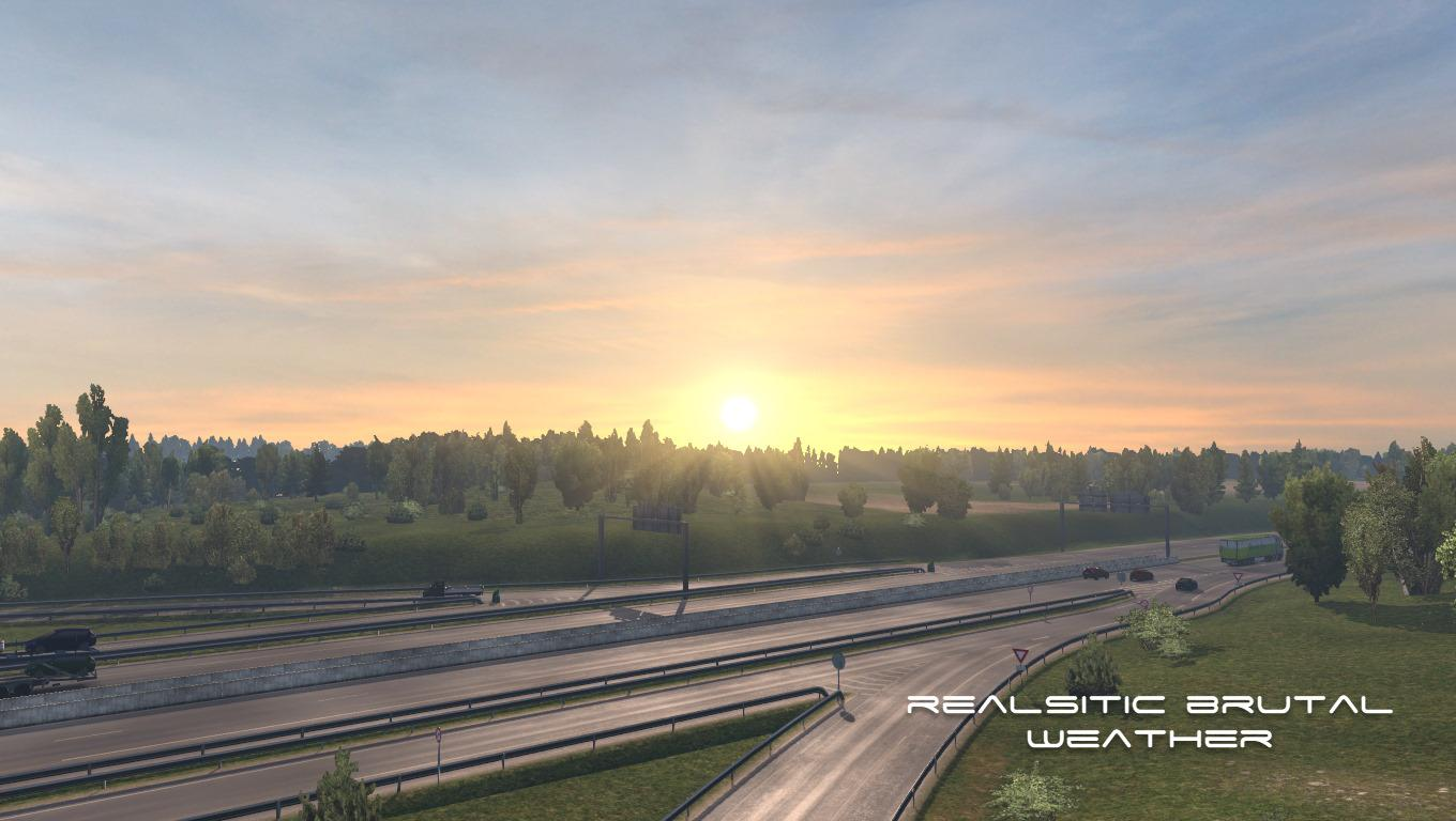 ETS2 - Realistic Brutal Weather V5.6 (1.38.x)