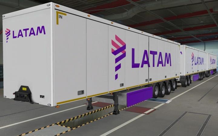 ETS2 - SCS Trailers Latam Skin (1.40.x)