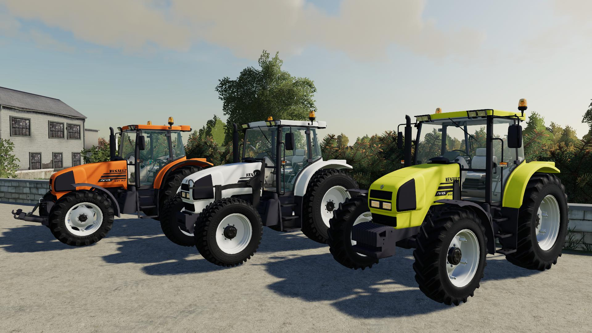 FS19 - Renault Ares 600 RZ Tractor V1.0