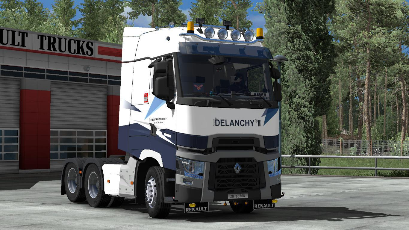 ETS2 - Renault Range T Truck V1.8 (1.38.x)