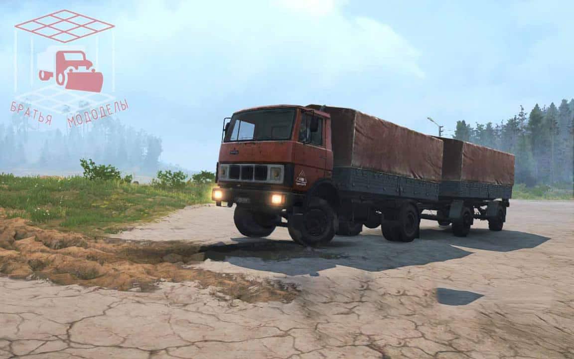 Spintires:Mudrunner - Maz-5337 Assembly Truck V1.0
