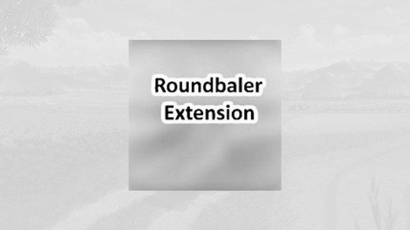 FS19 - Roundbaler Extension V1.5
