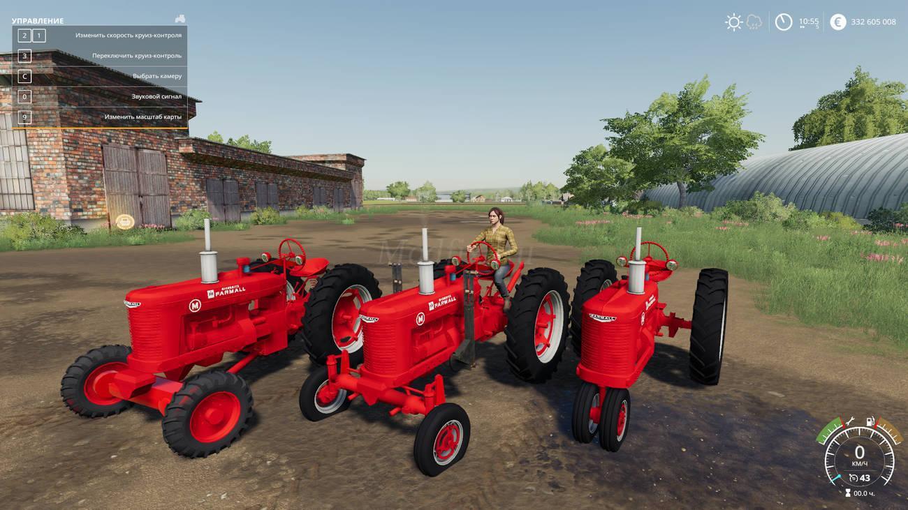 FS19 - Farmall M Tractor V2.0