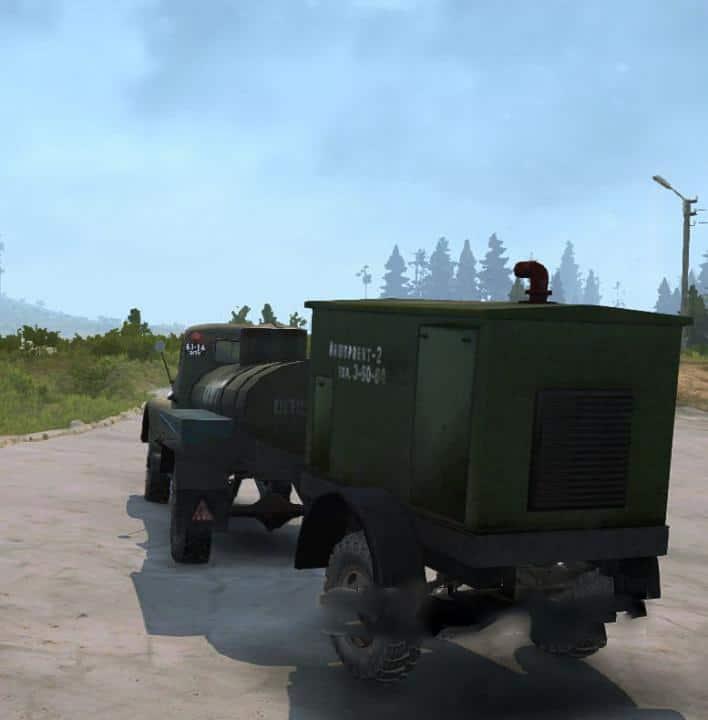 Spintires:Mudrunner - Gas Truck Mod 63 V1.3