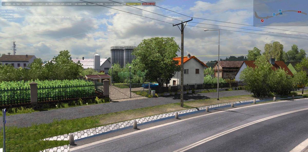 ETS2 - Poland Rebuilding Fix V1.0 (1.36.x)