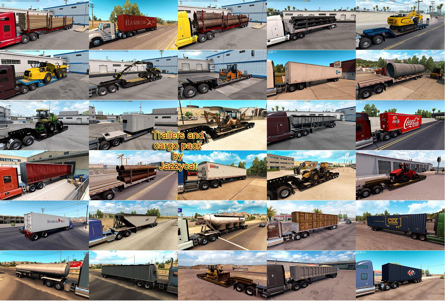 ATS - Trailers and Cargo Pack V3.8 (1.36.x)