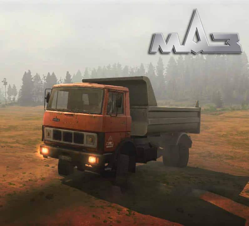 Spintires:Mudrunner - Maz-5337 Assembly Truck V1.1 Final