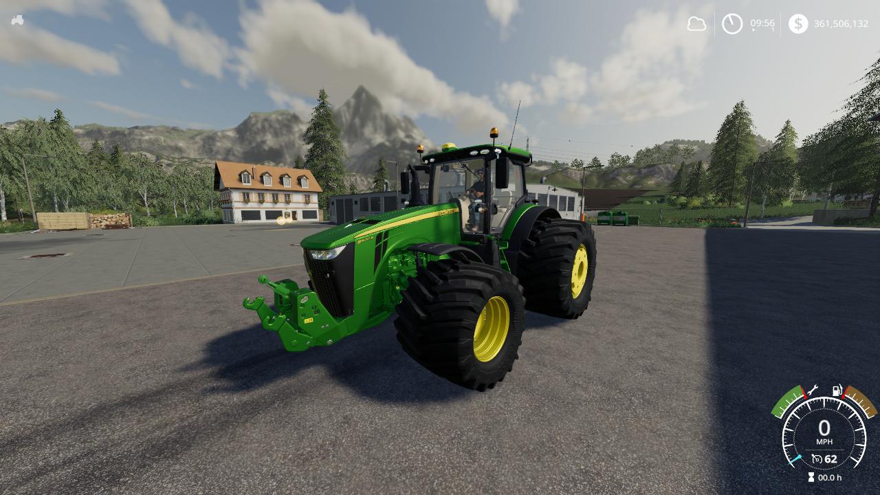 FS19 - John Deere 8R Tractor V1.0