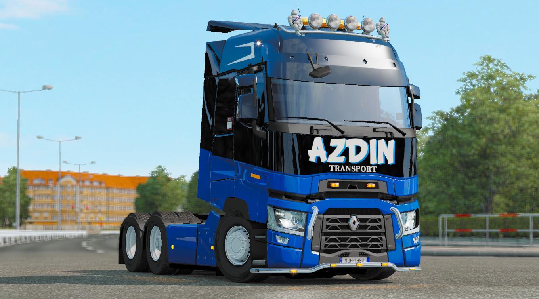 ETS2 - Azdin Transport Skins (1.36.X)