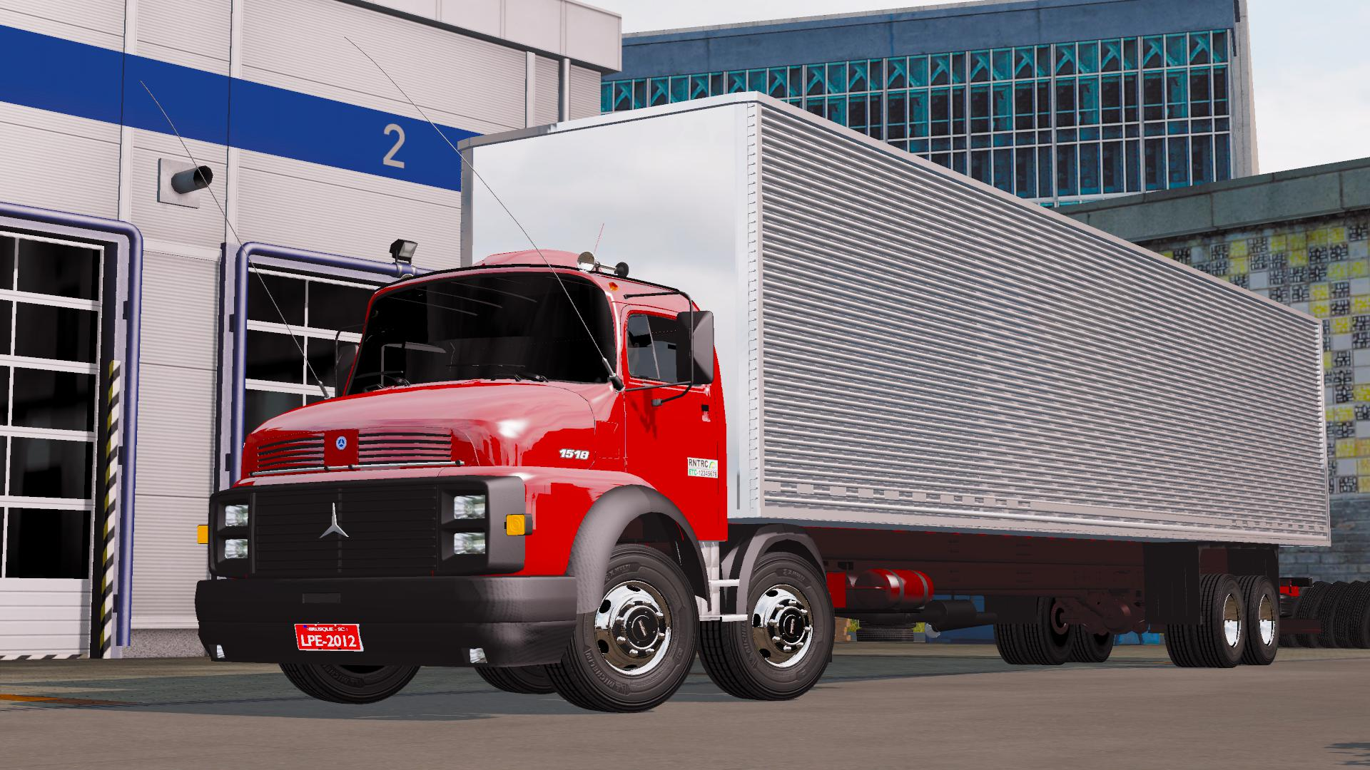 ETS2 - Mercedes-Benz 1518 Truck (1.35.X)