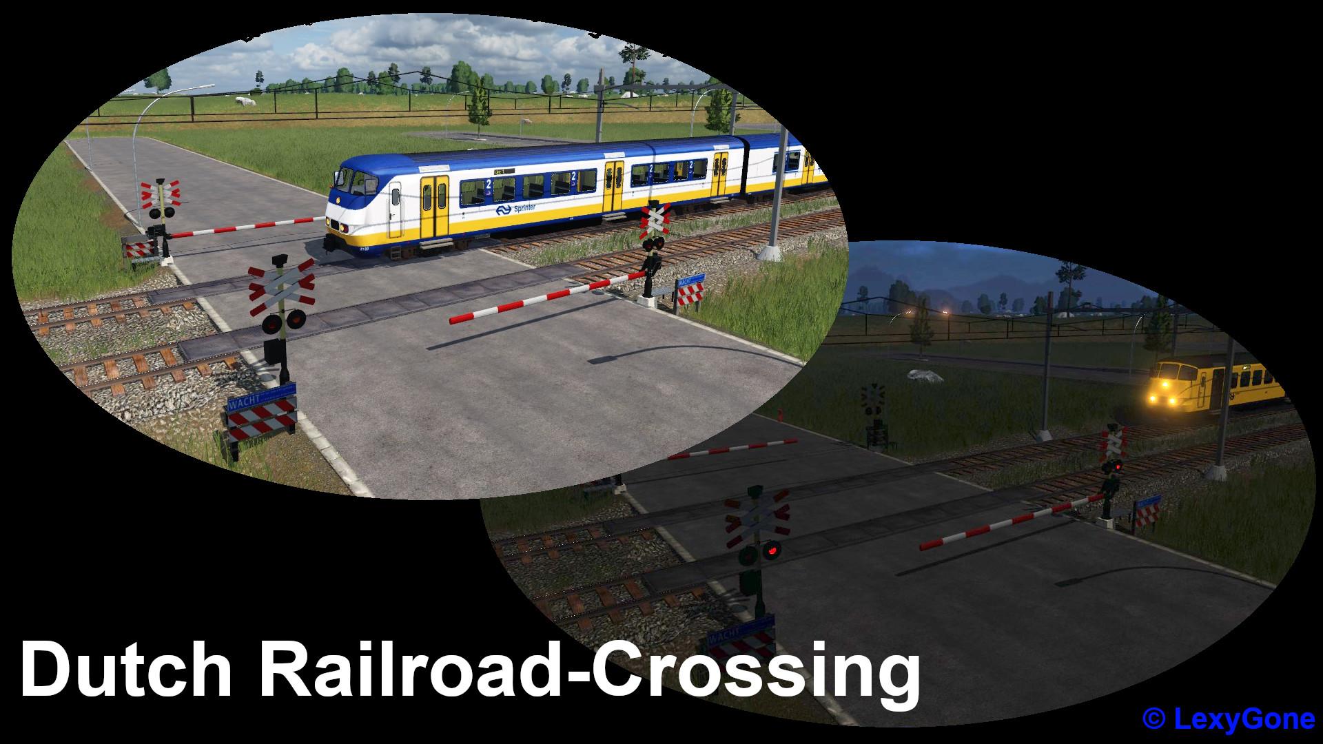 Transport Fever 2 - Dutch Railroad Crossing