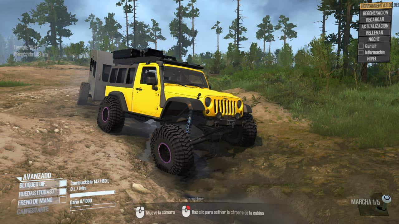 Spintires:Mudrunner - Jeep JKL Renegade Overland V1.0