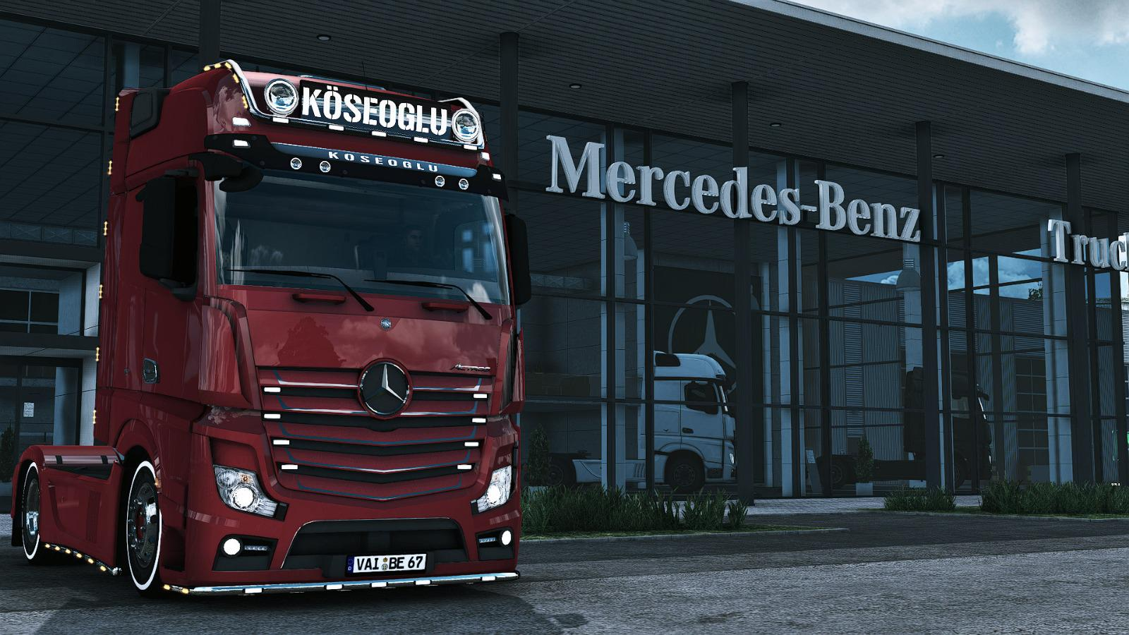 ETS2 - Mercedes MP4 Truck (1.39.x)