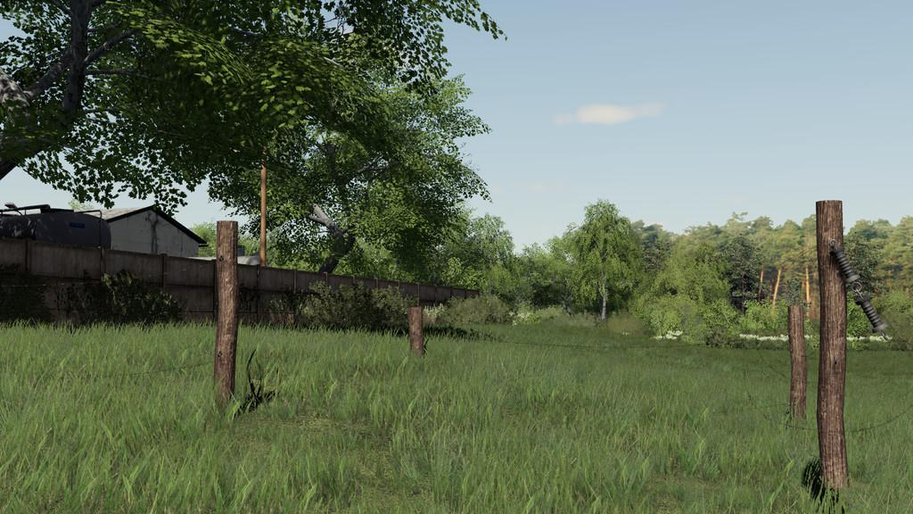 FS19 - Wooden Gates And Fences V1.0