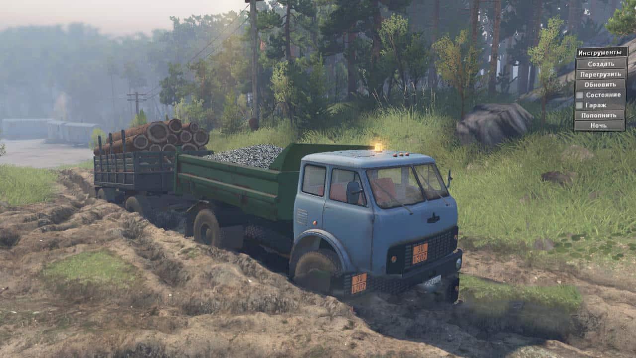 Spintires - Maz-5549 Dump Truck V1.0