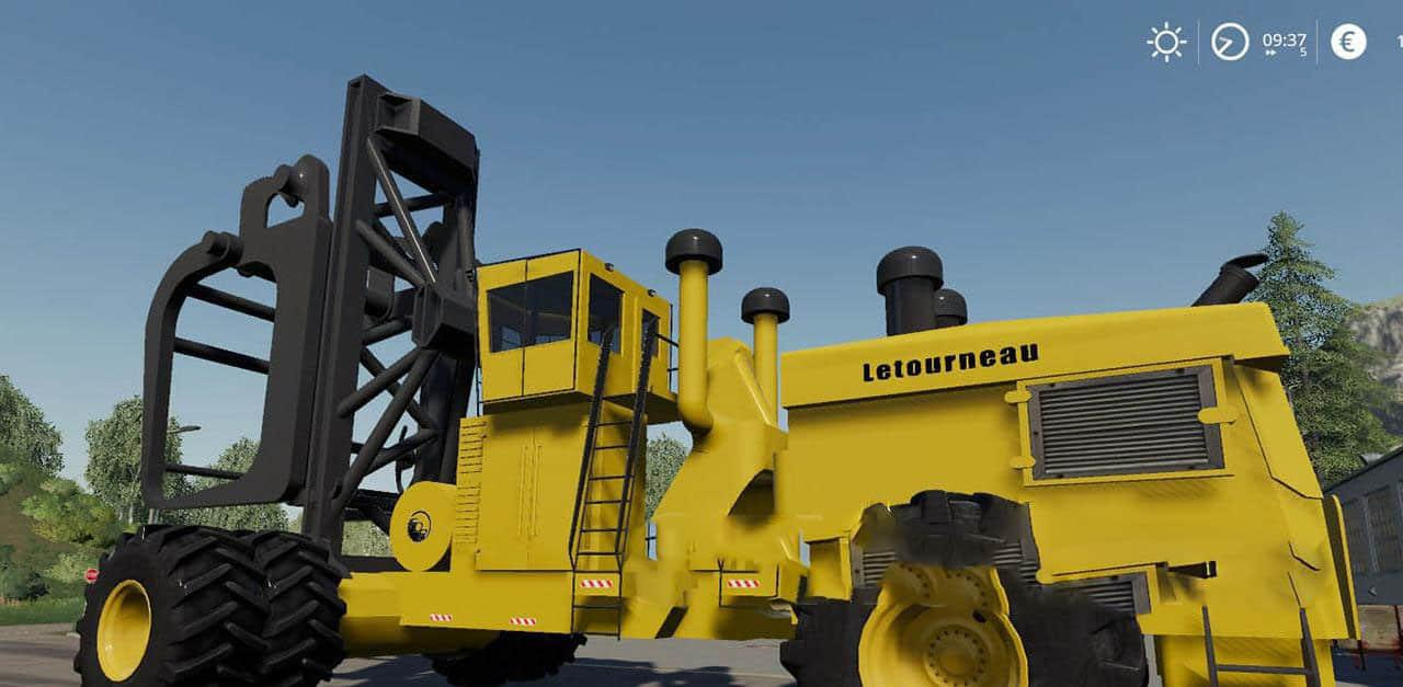 FS19 - Letourneau Log Loader V1.0