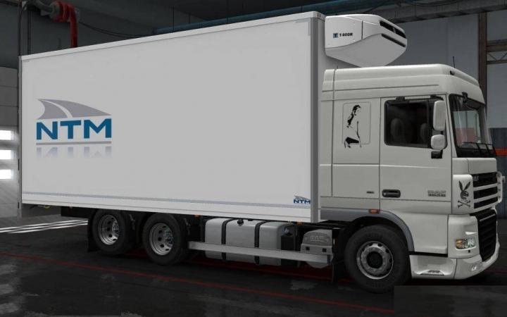 ETS2 - Daf XF 105 Truck V7.5 (1.41.x)
