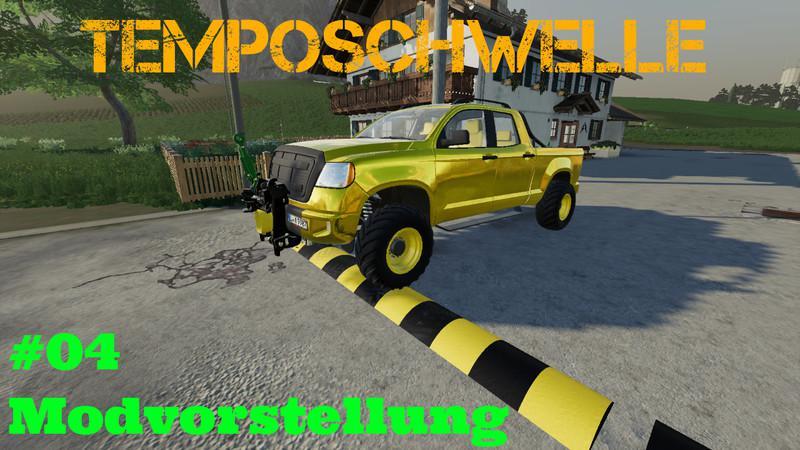 FS19 - Speed Bump V5.0a