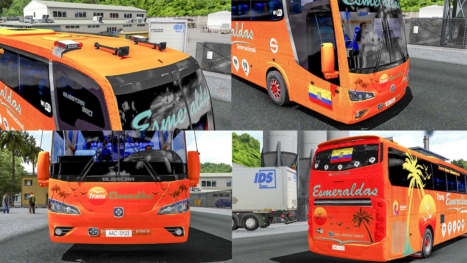ETS2 - Busstar 360 4x2 Bus (1.38.x)