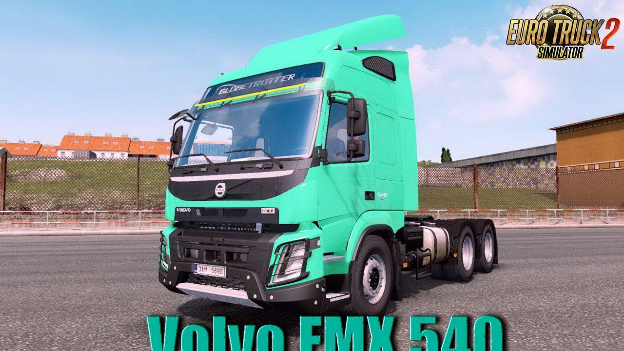 ETS2 - Volvo FMX 540 + Interior V1.35