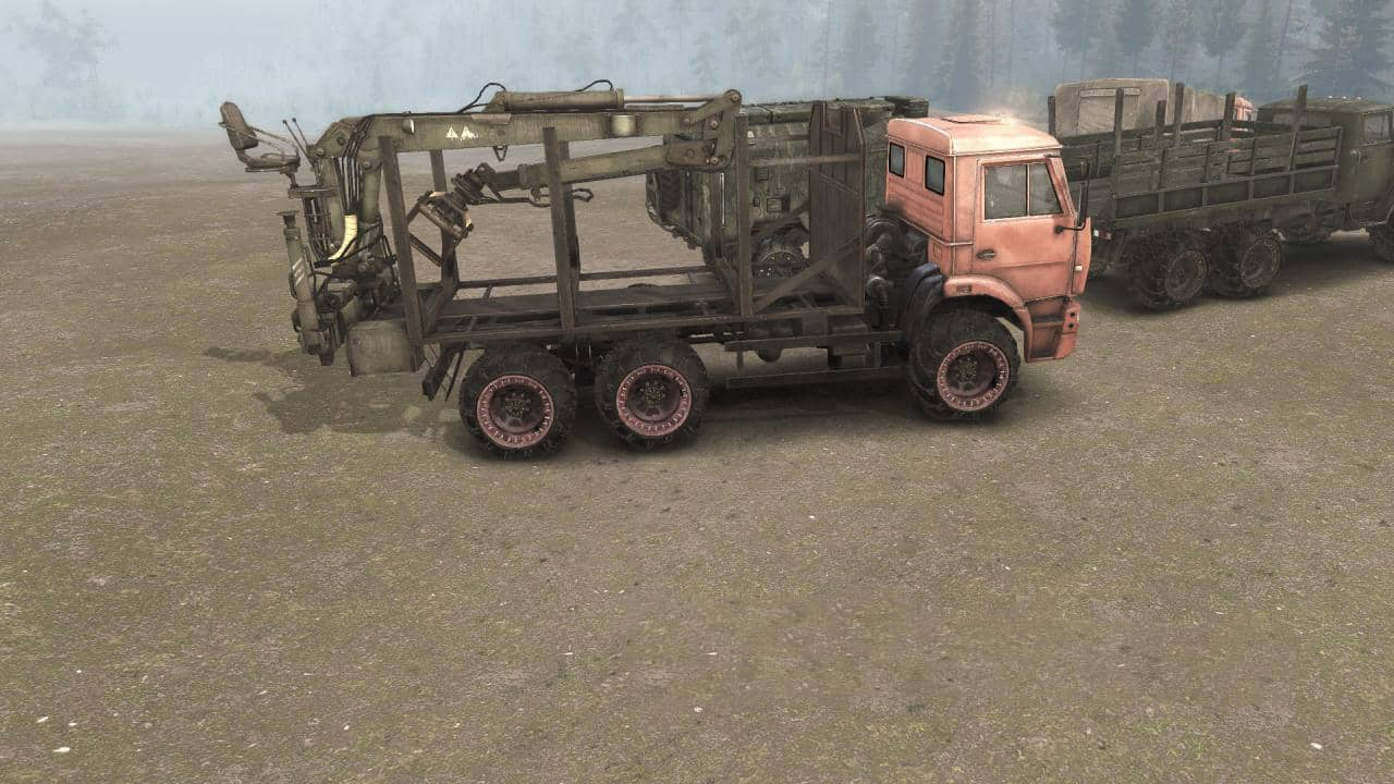 Spintires:Mudrunner - Arched Wheels (4 Colors) v0.1