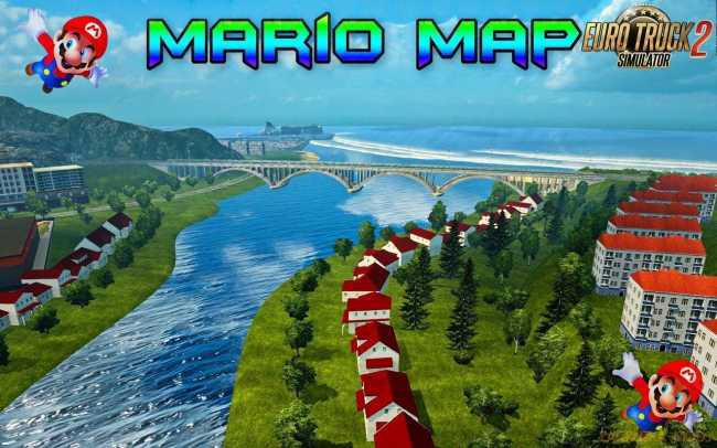 ETS2 - Mario Map (1.39.x)