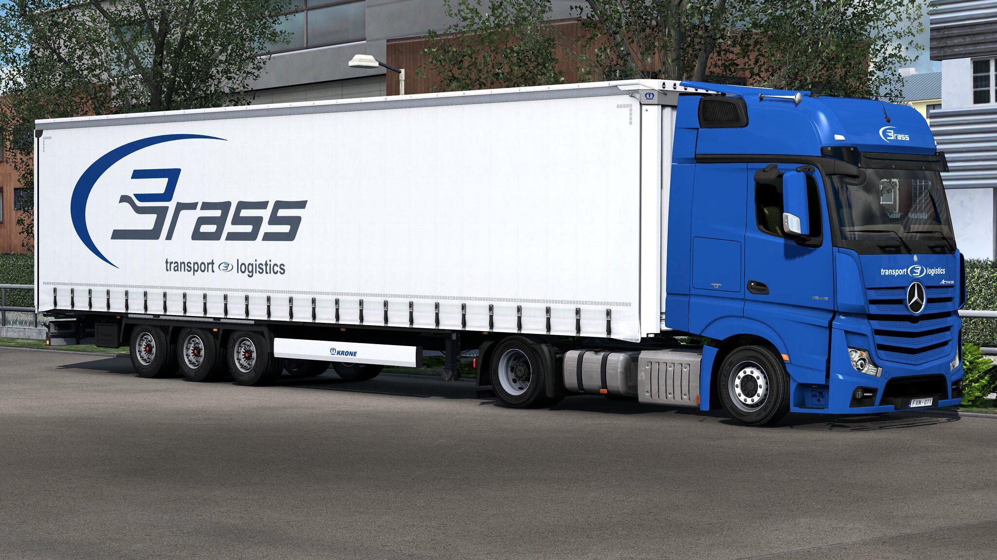 ETS2 - Krone Megaliner Skinpack V2.4 (1.36.x)