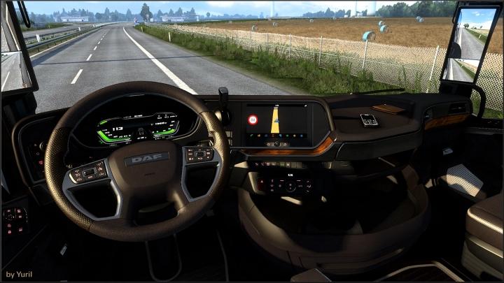 ETS2 - Dashboard Light Daf XG 2021 Pack V1.0 (1.40.x)
