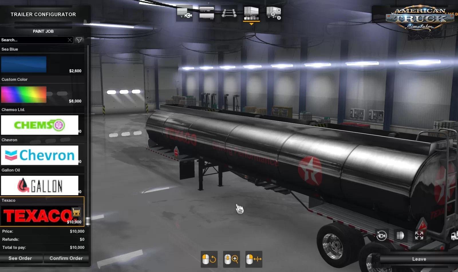 ATS - Ownable SCS Fuel Tanker Trailer Beta (1.36.x)