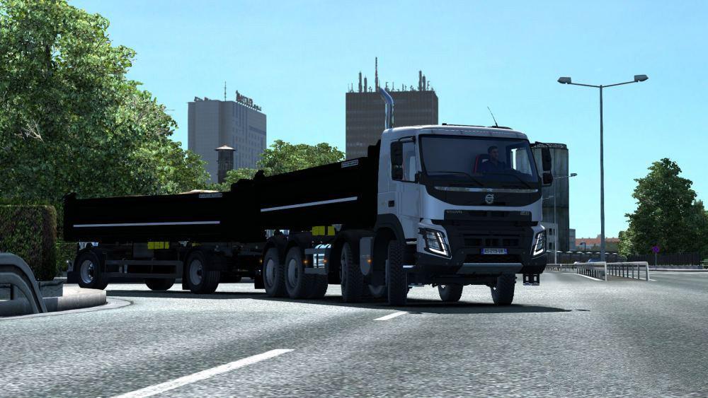 ETS2 - Volvo FMX Kipper Rework Truck V1.1 (1.36.x)
