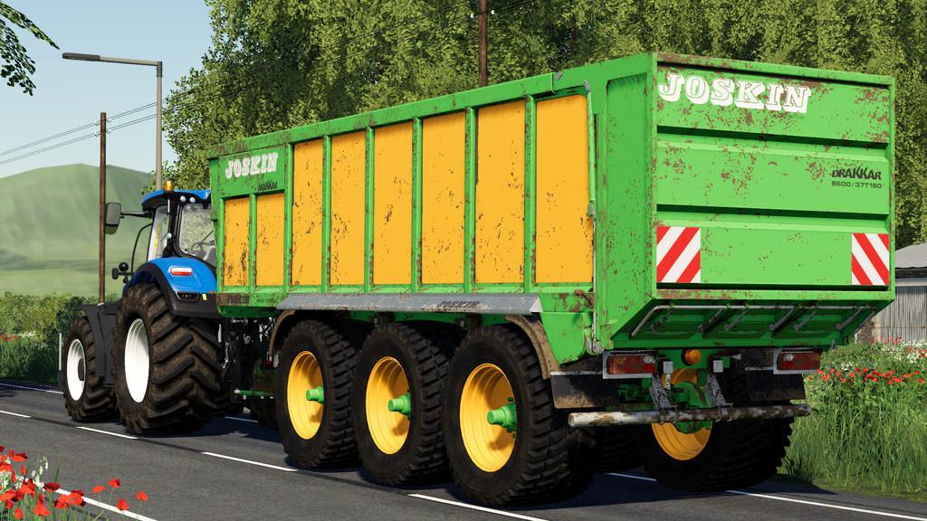 FS19 - Joskin Drakkar 8600 Trailer V1.0