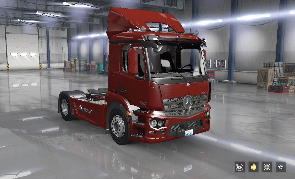 ATS - Mercedes Antos Truck (1.36.x)