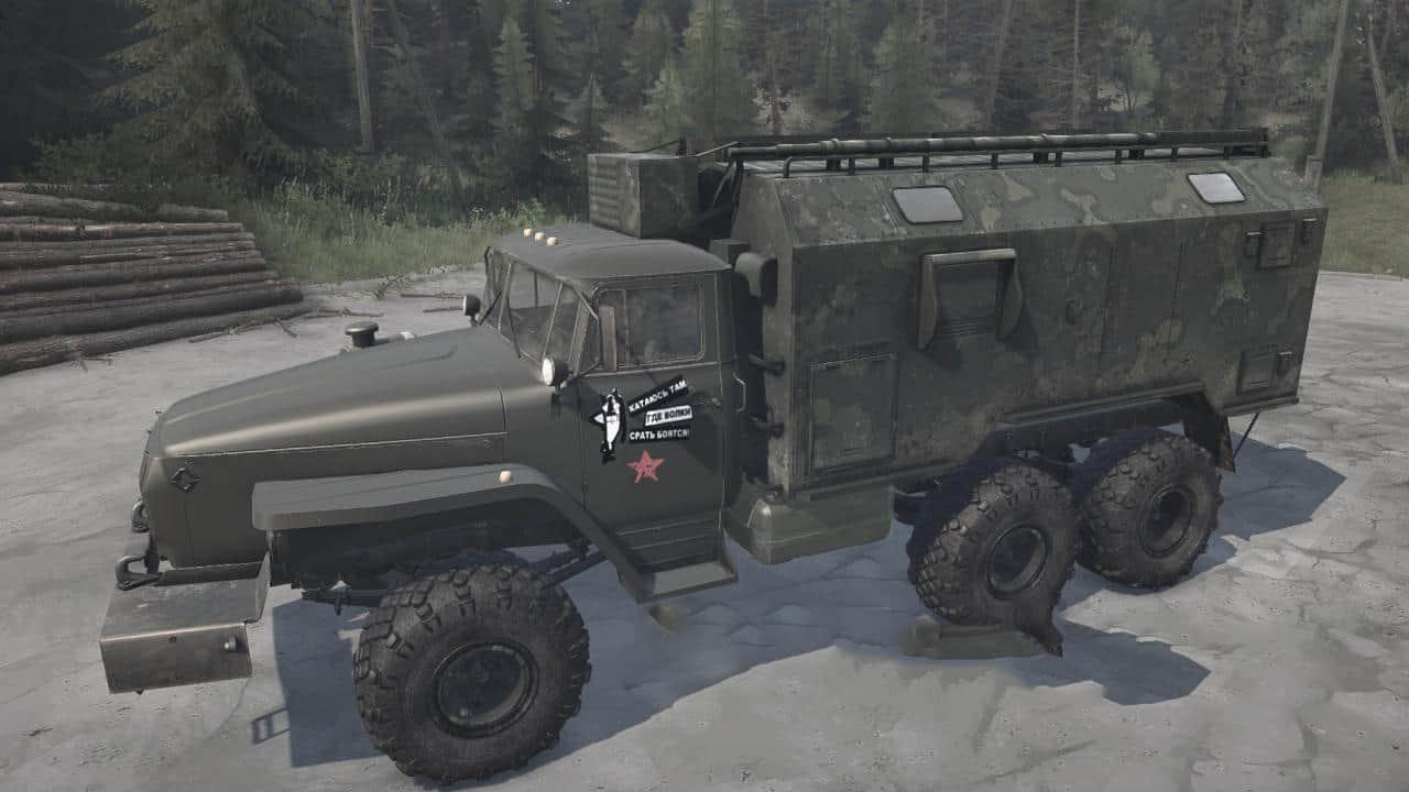Spintires:Mudrunner - Ural-432011Z Truck V28.03.20